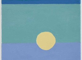 Etel Adnan Untitled 2014 (35 x 27 cm)