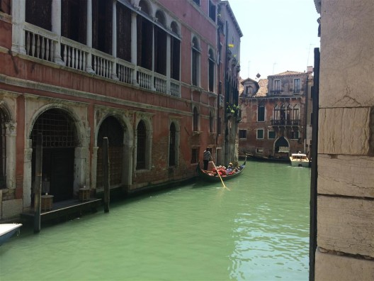 """Emerald green water"" has a different meaning in Venice and in the Caribbean"