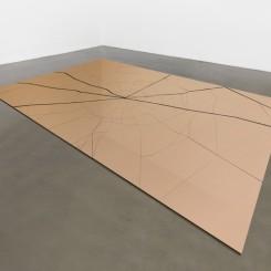 赵赵,《碎片》,装置,300 x 200 x 2 cm,2014