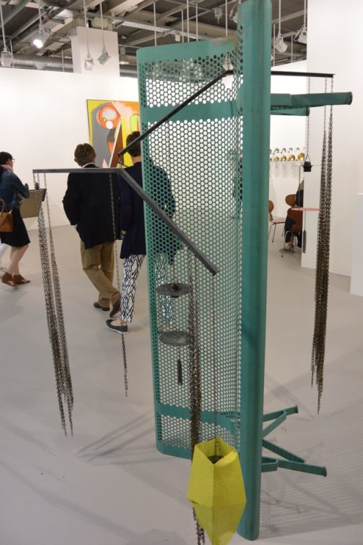 Martin Boyce was also to be seen everywhere, including at the Museum für Gegenwartskunst. Here