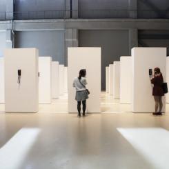 "Liu Ding, ""1999"", installation,  Shanghai Biennale"
