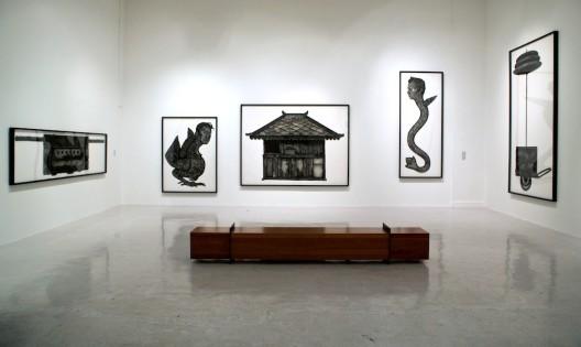 Richard Koh Fine Art, installation view of Nadiah Bamadhaj exhibition