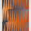 """Brent Wadden, """"Tangerine Grey (double fade)"""", hand woven fibers, wool, cotton and acrylic on canvas, 266.7 x 180.3 cm. Courtesy of the artist; Peres Projects, Berlin; and Mitchell-Innes & Nash, New York."""