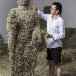 艺术家史钟颖 Shi Zhongying 图片摄影:李小鹏 Photos by Li Xiaopeng