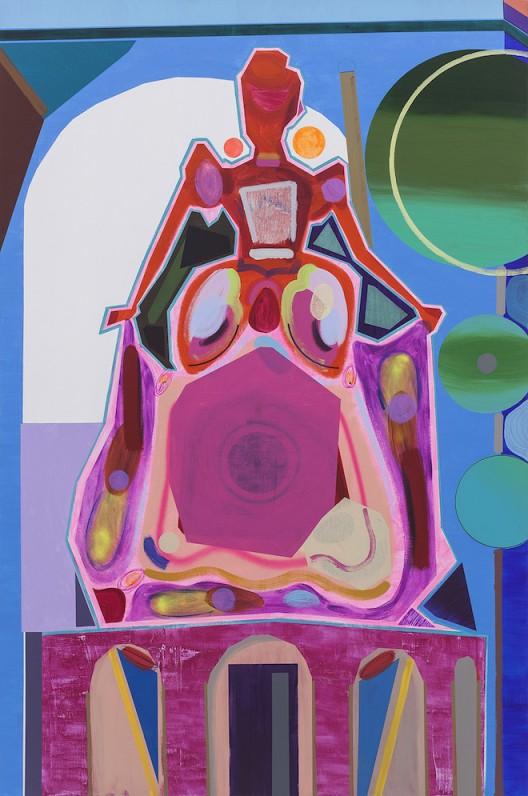 公主 Princess_2015_布面丙烯 acrylic on canvas_300 x 200 cm