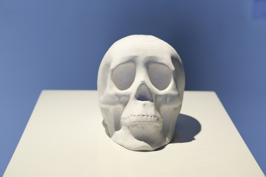 "Li Hongbo, ""Skull"", Paper, Dimensions variable, 2014李洪波,《骷髅》,纸,尺寸可变,2014"