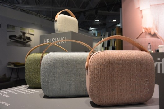 Helsinki bluetooth loud speakers by vifa, Denmark