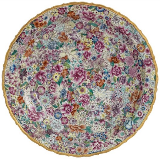 AI WEIWEI Plate with Flowers, 2014