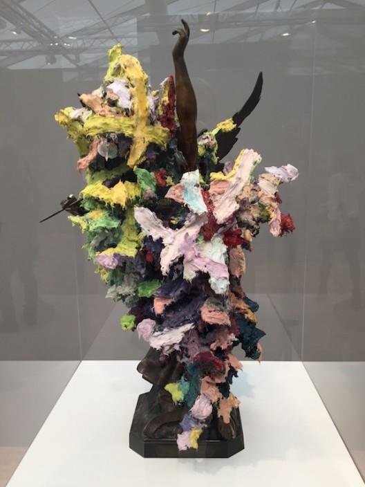 Glenn Brown at Gagosian Gallery