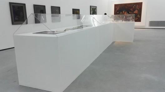 """展览现场,第二部分""""人与神:自觉的个体"""