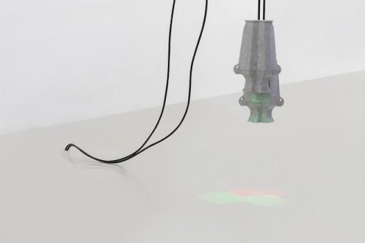 "Liu Chuang, ""Untitled"", Porcelain, LED Light, electrical wire, 27×19cm (×2), 2015, Courtesy the artist and Magician Space刘窗,《无题》,瓷器、LED灯、电线,27×19 cm,2015@魔金石空间"