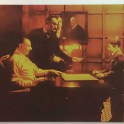 《合同》,透明胶片,180x220,2004
