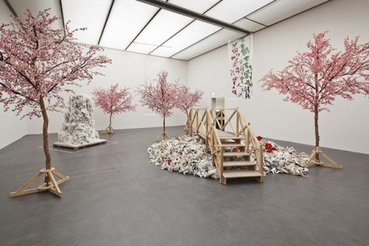 "Yangjiang Group (Yangjiang, founded 2002), ""Calligraphy Peach Blossom Garden"", 2004"