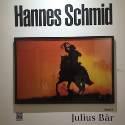 Hannes Schmid, Marlboro Man photographer, showed himself, with sponsorship by Julius Bär, a private Swiss bank.