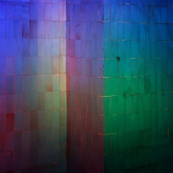 """Chen Wei, """"Colorful Wall"""", 2015 (Courtesy of LEO XU PROJECTS; copyright: the artist)陈维,《彩墙》,2015(图片提供:LEO XU PROJECTS;版权:艺术家)"""