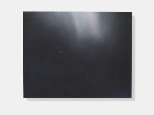 "Darren Almond, ""Timescape 01:17"", Aquacryl and gouache on aluminium, 23 5/8 x 29 1/2 in. (60 x 75 cm), 2015, © Darren Almond. Photo © White Cube (Prudence Cuming Associates Ltd)"