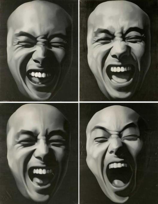 """Geng Jianyi (born 1962, Zhengzhou), """"The Second Situation"""", 1987"""