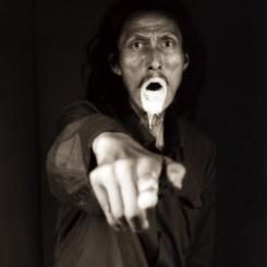"""大同大张,《我看见死亡》,摄影,1998(图片由上海当代艺术博物馆提供)Datong Dazhang, """"I Saw Death"""", photography (courtesy Power Station of Art, Shanghai)"""