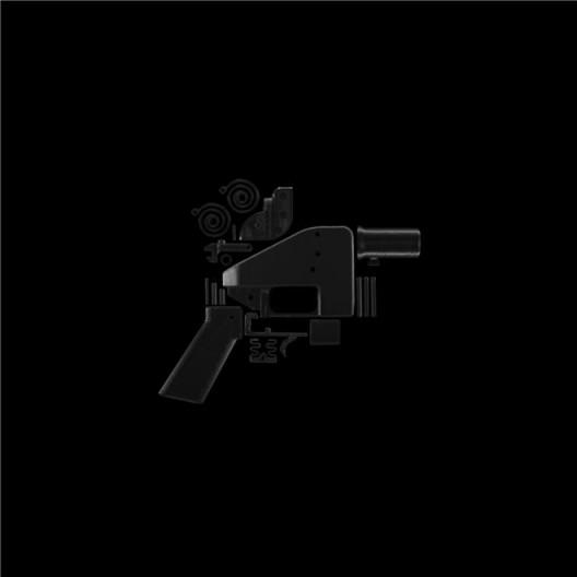 黑色方块ⅩⅢ 档案专用喷墨印刷,80 x 80 cm,2013