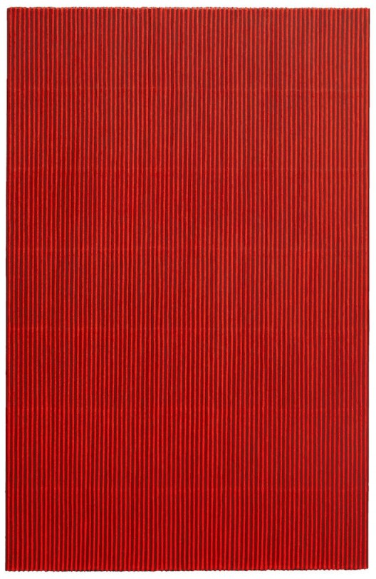 "PARK Seo-Bo ""Ecriture(描法)No.150228"", 2015 Acrylic with Korean Hanji paper on canvas 200 x 130 cm / 78 3/4 x 51 3/16 inches Courtesy Galerie Perrotin"