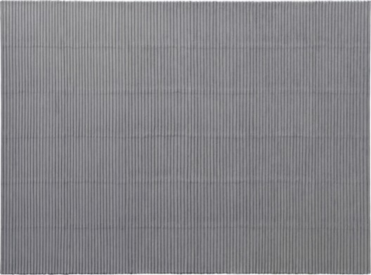 "PARK Seo-Bo ""Ecriture(描法)No.100604"", 2010 Acrylic with Korean Hanji paper on canvas 170 x 230 cm / 66 15/16 x 90 9/16 inches Courtesy Galerie Perrotin"
