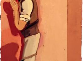蛇与少年No.3 120X90CM 布面油画   Oil on canvas 2015