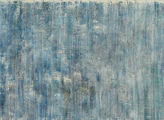 Zhang Zhenxue 张振学, Water 水格, Oil on canvas 布面油彩,205x280cm, 2014
