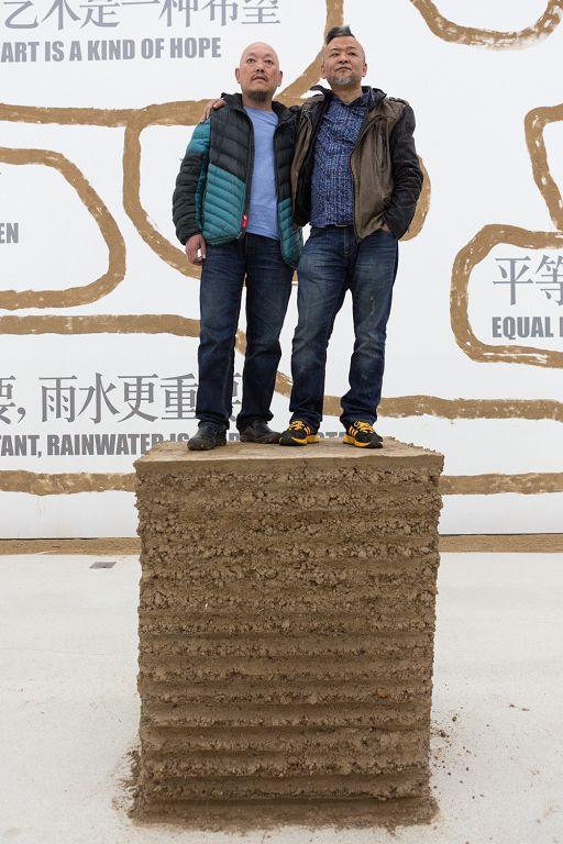 一起飞-石节子村艺术实践计划,展览现场,靳勒,琴嘎
