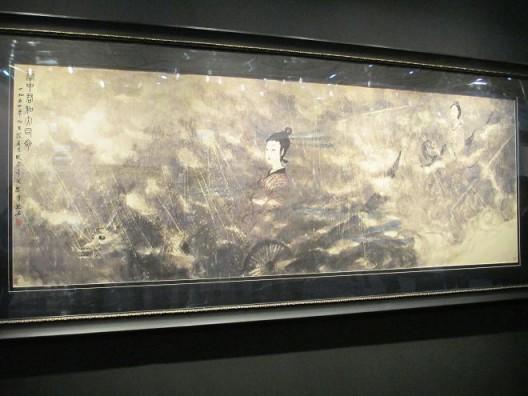 傅抱石,《云中君和大司命》,1954,保利拍卖