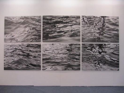 赛尔斯,《水面》,2014,常青画廊