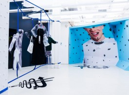 "DISown, ""Not for Everyone"", store in collaboration with Lizzie Fitch at Red Bull Studio, 2014"
