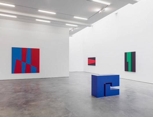 Carmen Herrera at Lisson New York. Photo: Lisson Gallery.
