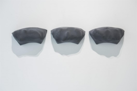 "皮诺·皮奈利,《画GR》,混合媒介,每件10.5 × 20 cm,1987 / Pino Pinelli, ""Pittura GR"", mixed media, 10.5 × 20 cm each, 1987"