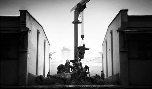 侯帅,《处理》,摄影、爱普生艺术微喷、哈内姆勒摄影纯棉硫化钡纸基纸,76×130cm,2014