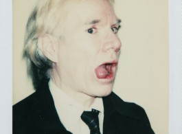 Andy Warhol Self Portrait Polaroid 1 Andy Warhol, Self-Portrait, 1977.