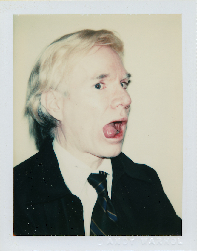 randian - An... Andy Warhol Self Portrait With Skull