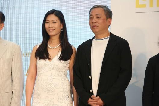 王薇与刘益谦 Wang Wei and Liu Yiqian