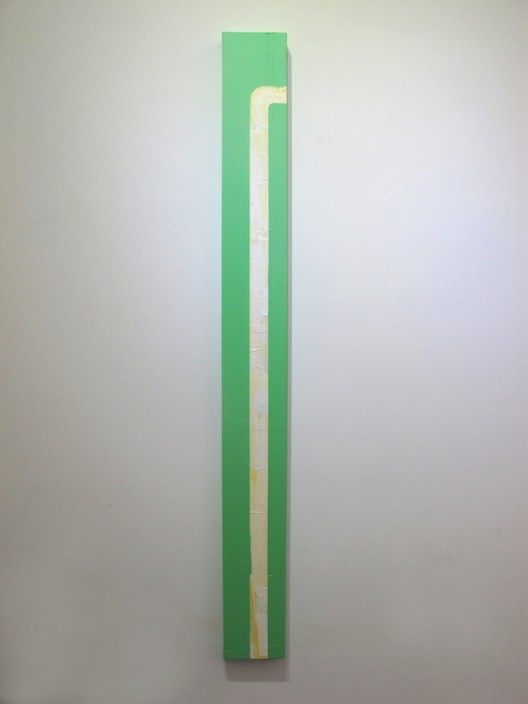 林清, L – 1, 2016年, 布面丙烯, 20 x 200 cm Lin Qing, L – 1, 2016, Acrylics on canvas, 20 x 200 cm
