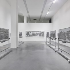 """""""Impermanent Marks"""", exhibition view """"非永久性的标记"""" ,展览现场"""