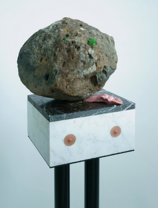 Sam Leach, 'Sensual Caricature', 2016, stone, steel, silicon, 150 x 30 x 30 cm (including stand)
