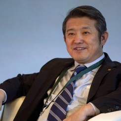 Chen Dongsheng at a conference in Beijing in 2011. Photo: Bloomberg News