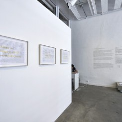 """""""Orchestrations"""" exhbition view"""
