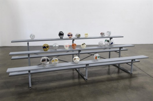 Shirley Tse, The Vehicle Series, installation view. Courtesy of Shoshana Wayne Gallery, photo: Gene Ogami