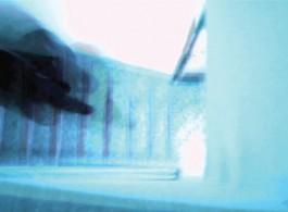 黄智铨(生于1987年),《Last Walk on Thirteen Streets》,2016年,楼梯,微型电脑,定制软件,液晶显示屏,螺线管,微型控制器,定制电子设备,钢