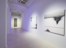 """In Silence"", installation view at Pearl Lam, Singapore"