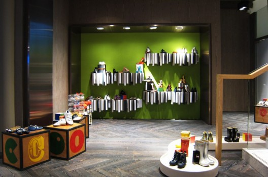 AFSO, Lane Crawford Shoe Library, Hong Kong, 2012