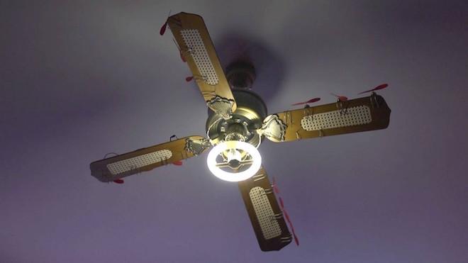 Broken Ceiling Fan : Randian chronus art center cac warmly welcomes samuel