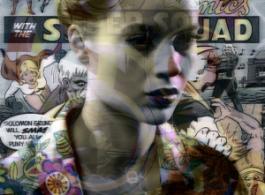 Valérie Belin, Power Girl (série All Star), 2016, pigment print, 177 x 134 cm. 瓦莱丽·贝兰,《神力女郎》(全明星系列),2016,彩印,177 x 134 cm