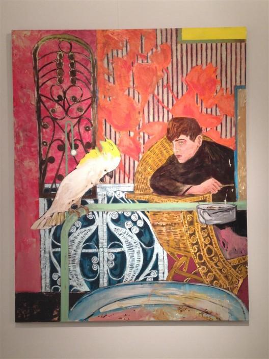 Hernan Bas at Galerie Peter Kilchmann