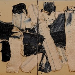Zhu Jinshi b. 1954, White, 1983, Oil on canvas, 58 x 44 cm (22 7/8 x 17 3/8 in.)